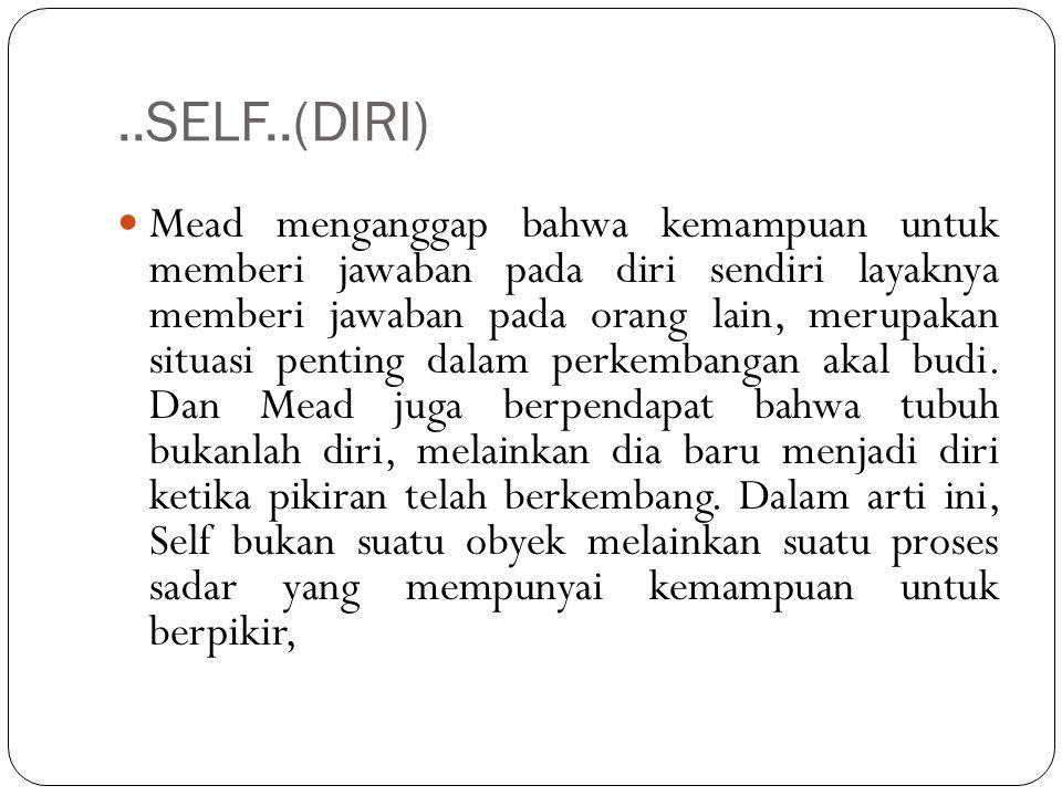 ..SELF..(DIRI)