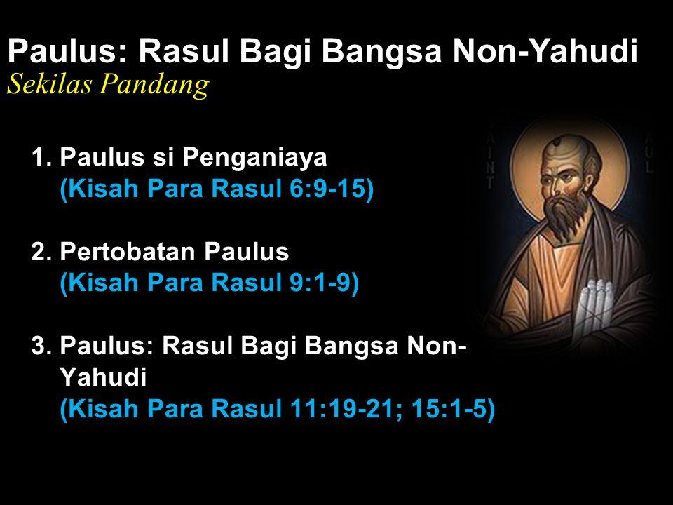 Black Paulus: Rasul Bagi Bangsa Non-Yahudi Sekilas Pandang