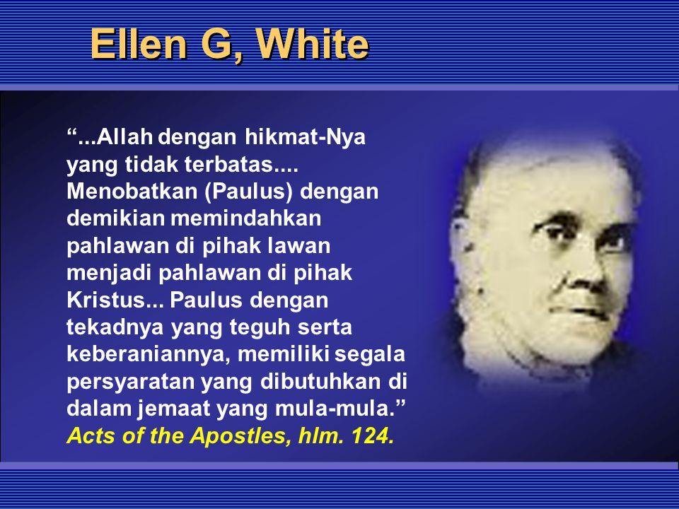 Ellen G, White