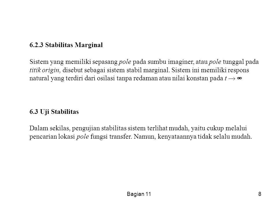 6.2.3 Stabilitas Marginal