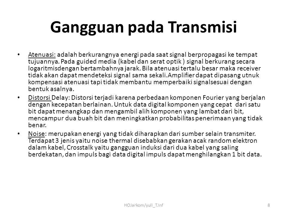 Gangguan pada Transmisi