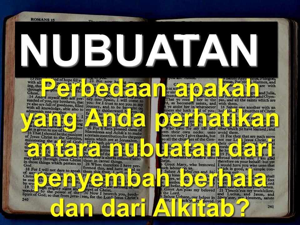 PROPHECY NUBUATAN.