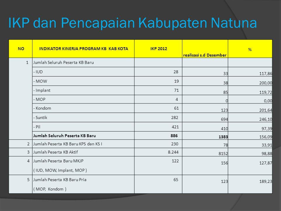 IKP dan Pencapaian Kabupaten Natuna