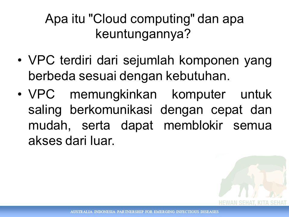 Apa itu Cloud computing dan apa keuntungannya