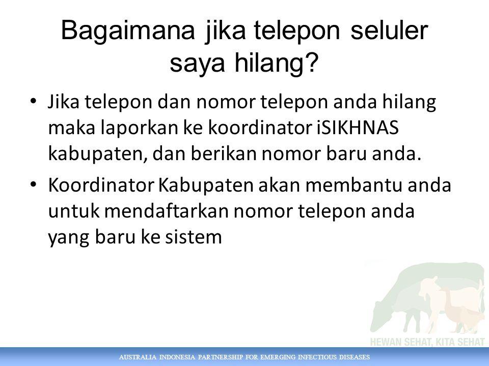 Bagaimana jika telepon seluler saya hilang