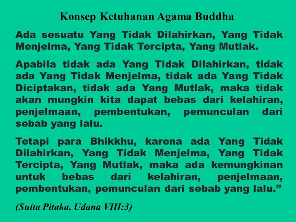 Konsep Ketuhanan Agama Buddha