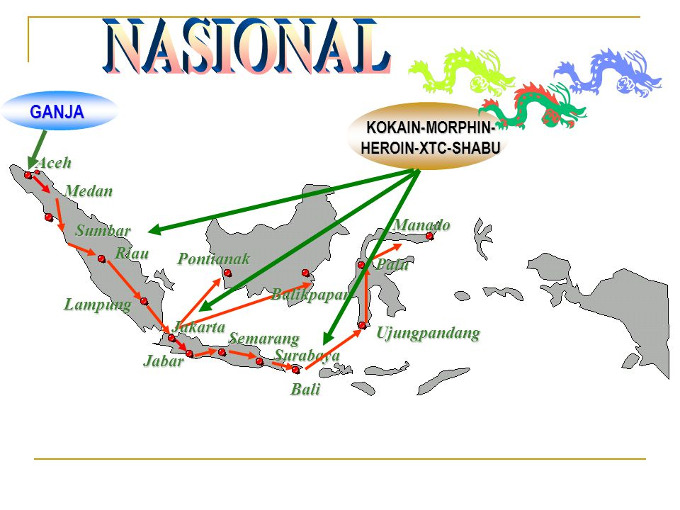 NASIONAL GANJA KOKAIN-MORPHIN- HEROIN-XTC-SHABU Aceh Medan Manado