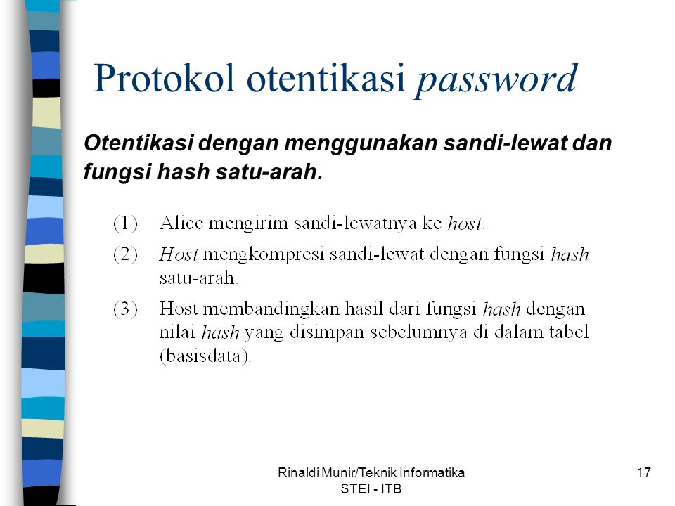 Protokol otentikasi password