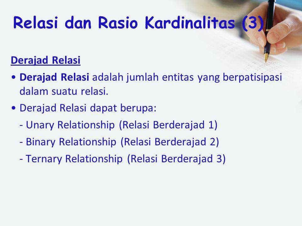 Relasi dan Rasio Kardinalitas (3)