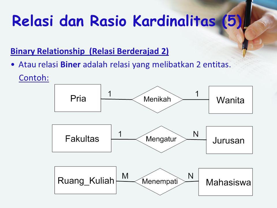Relasi dan Rasio Kardinalitas (5)