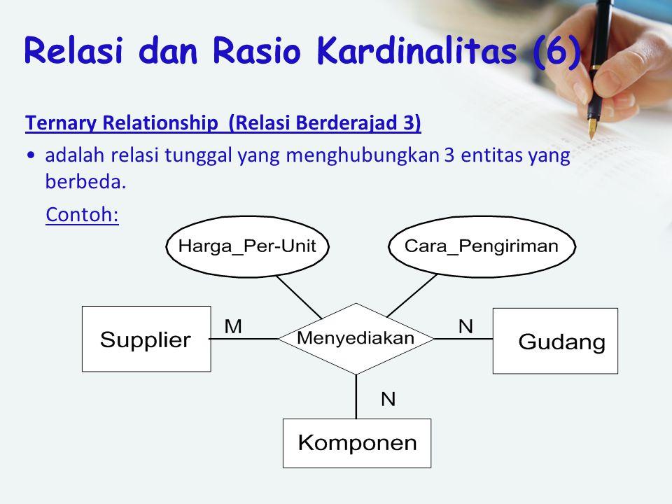 Relasi dan Rasio Kardinalitas (6)