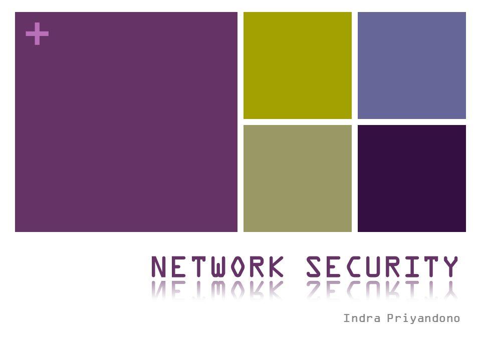 NETWORK SECURITY Indra Priyandono