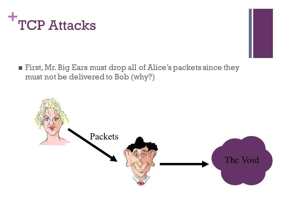 TCP Attacks Packets The Void