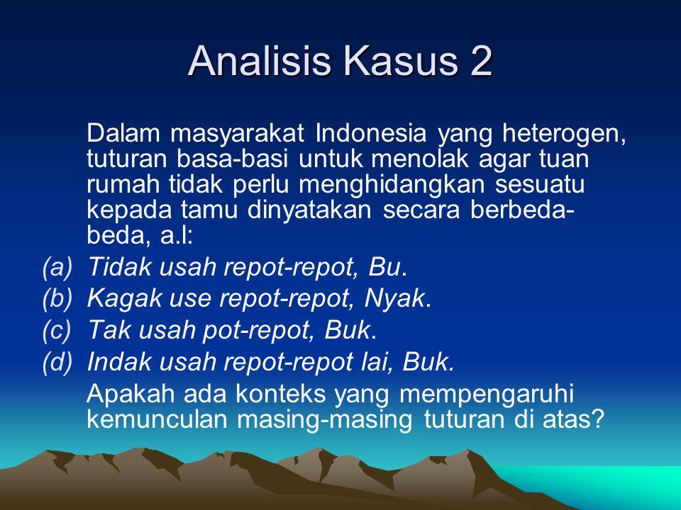 Analisis Kasus 2