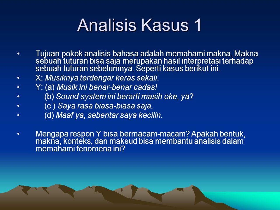 Analisis Kasus 1