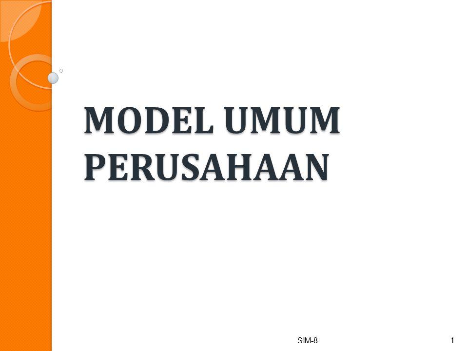 MODEL UMUM PERUSAHAAN SIM-8