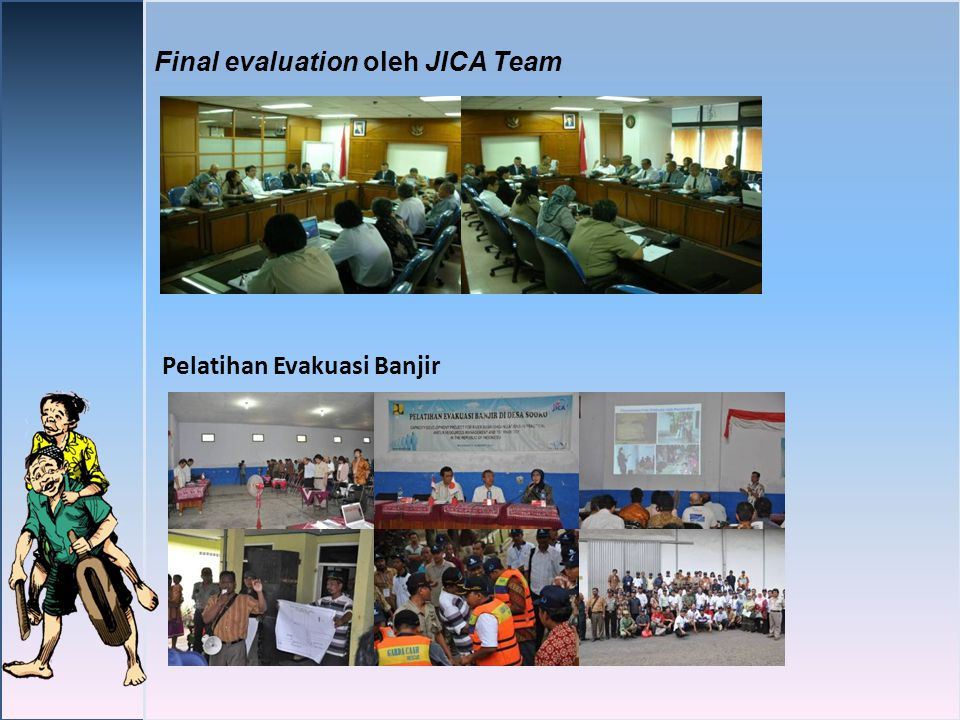 Final evaluation oleh JICA Team