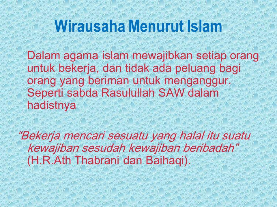 Wirausaha Menurut Islam