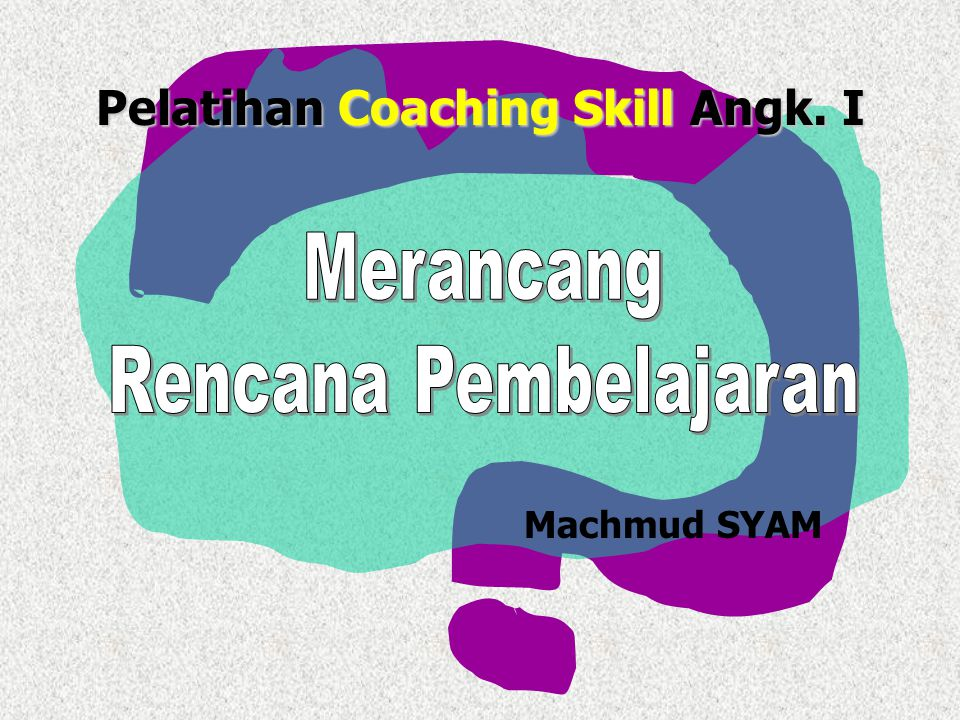 Pelatihan Coaching Skill Angk. I