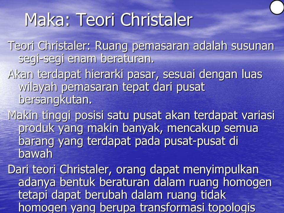Maka: Teori Christaler