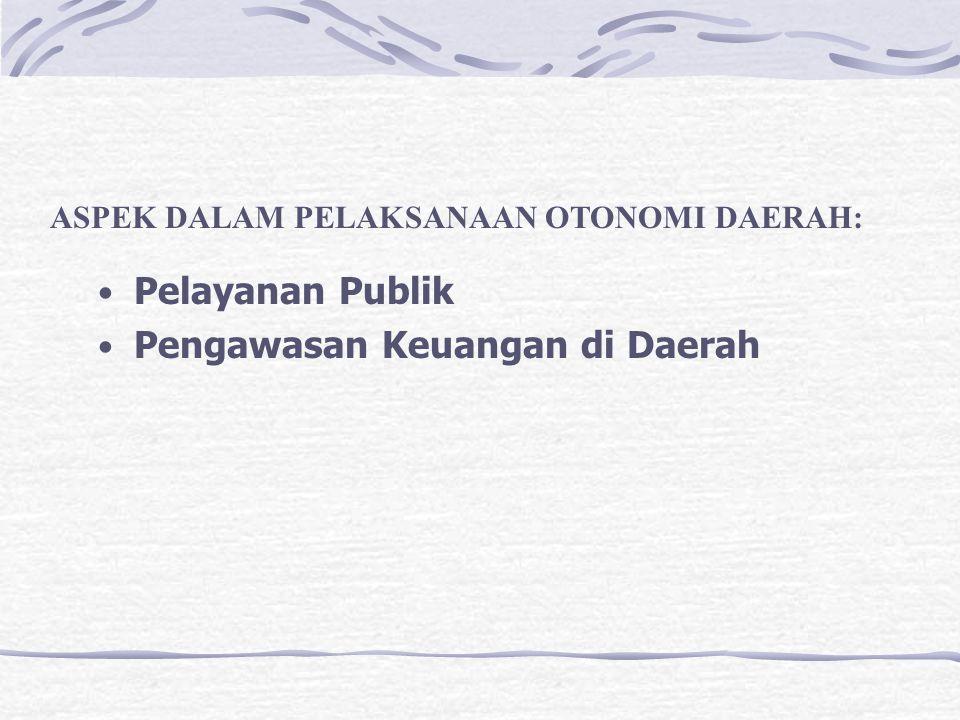 Pengawasan Keuangan di Daerah