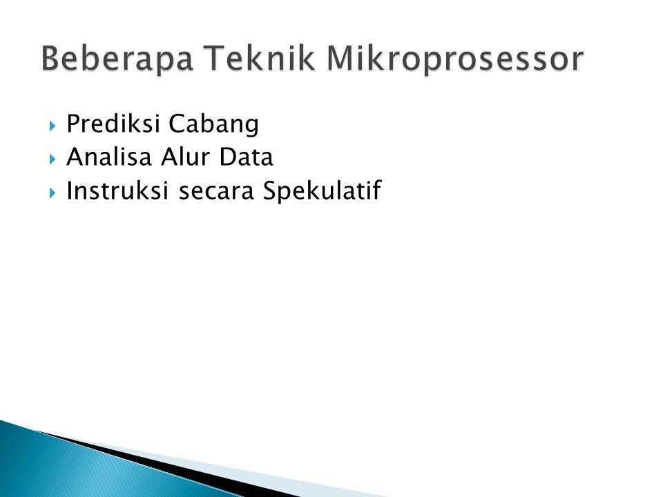 Beberapa Teknik Mikroprosessor
