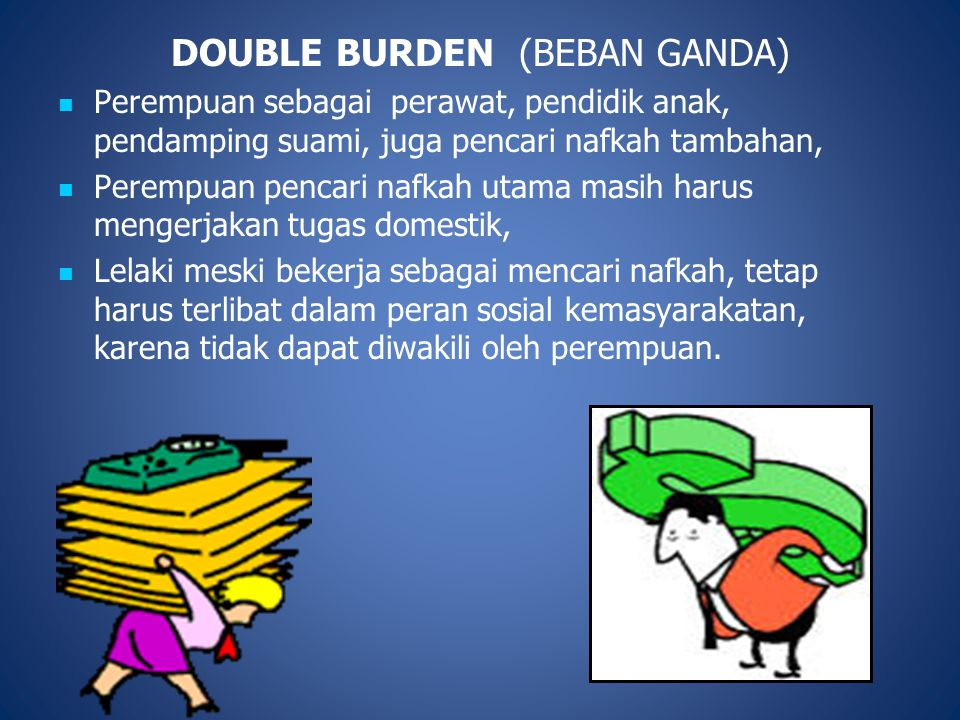DOUBLE BURDEN (BEBAN GANDA)