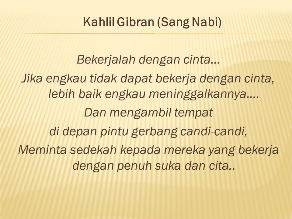 Kahlil Gibran (Sang Nabi)