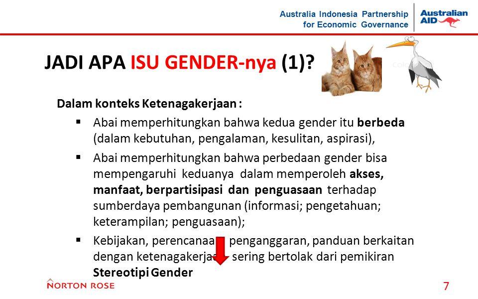 JADI APA ISU GENDER-nya (1)