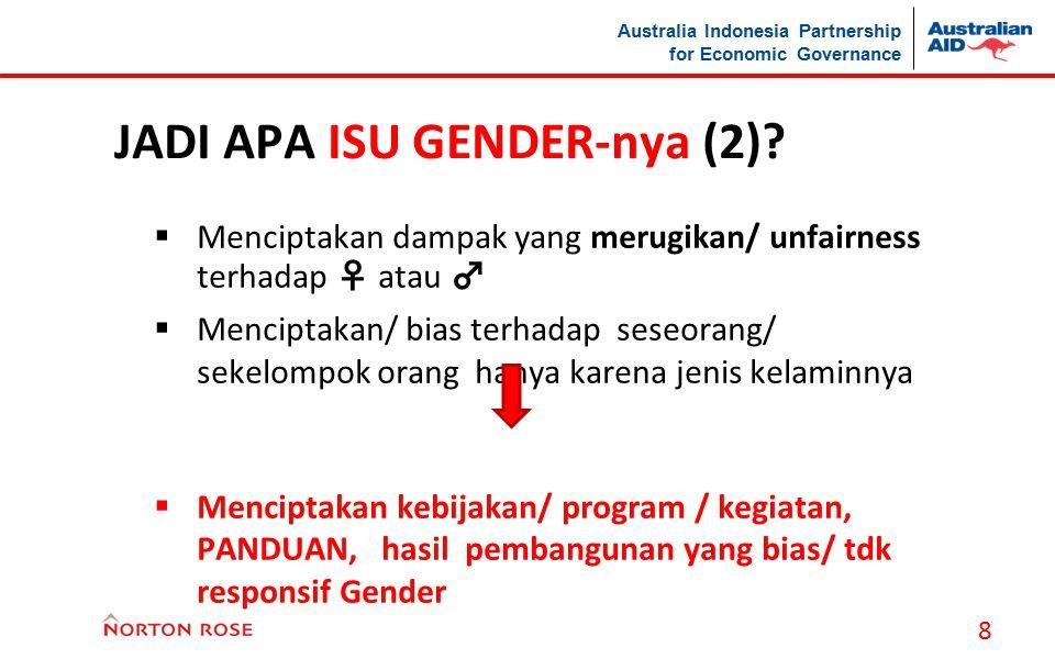 JADI APA ISU GENDER-nya (2)