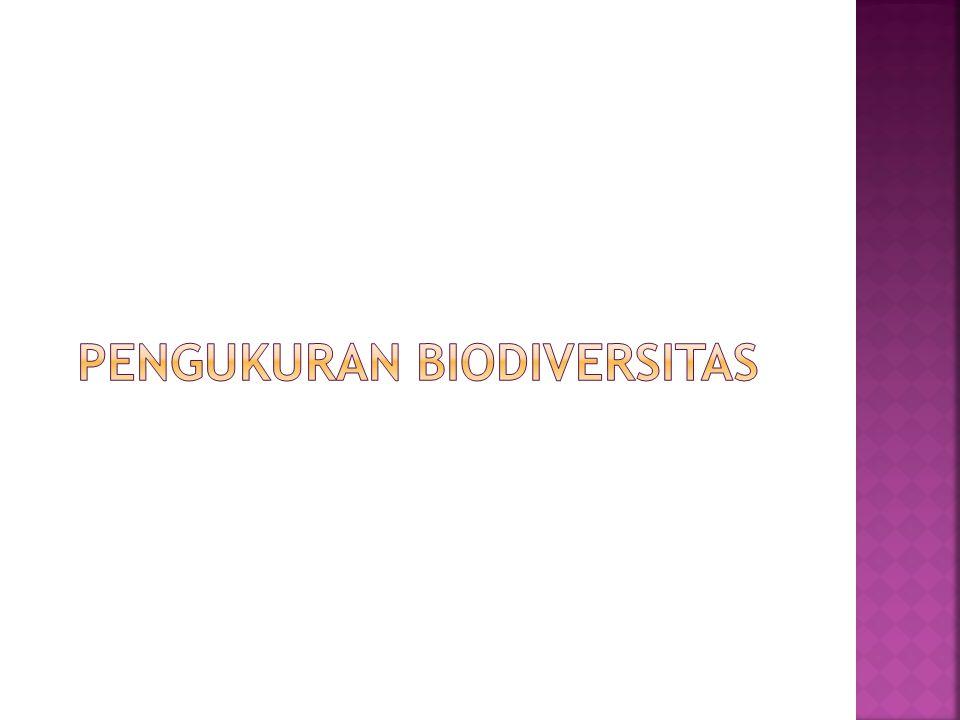 Pengukuran biodiversitas