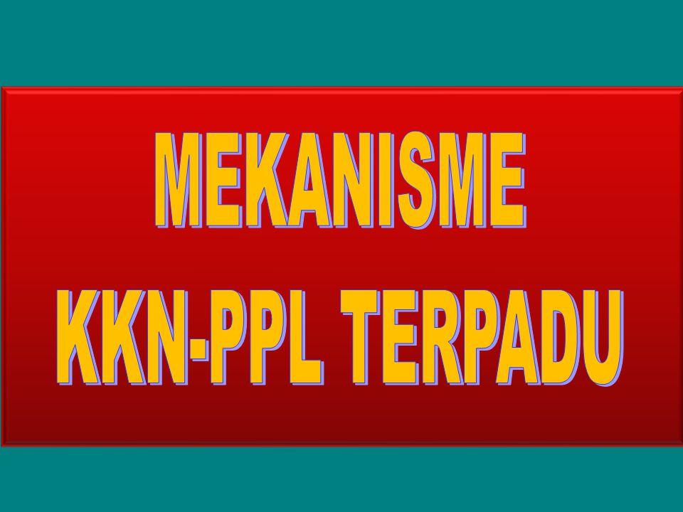 MEKANISME KKN-PPL TERPADU Tim Sertifikasi Guru Ditjen Dikti 2007 1