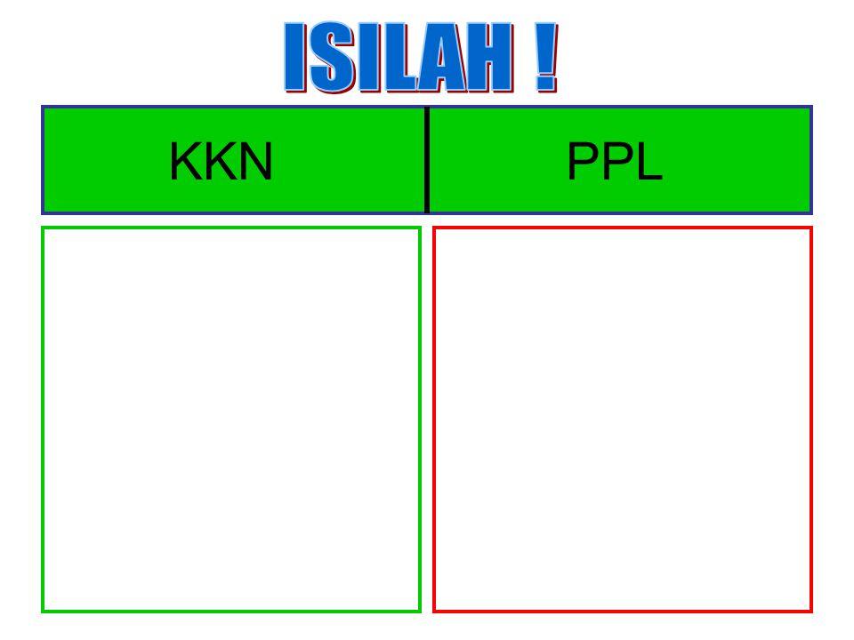 ISILAH ! KKN PPL