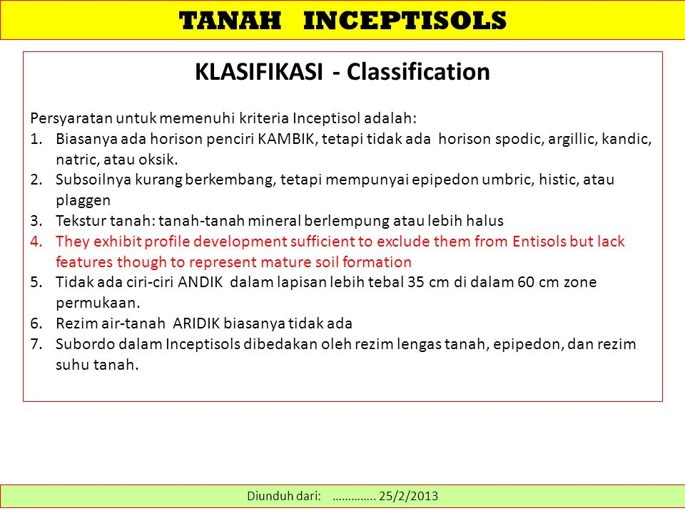 KLASIFIKASI - Classification