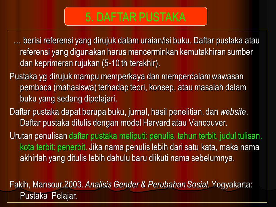 5. DAFTAR PUSTAKA