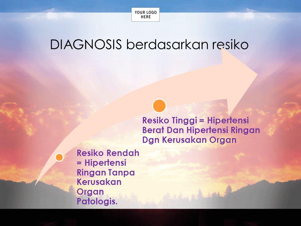 DIAGNOSIS berdasarkan resiko