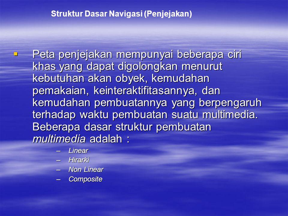 Struktur Dasar Navigasi (Penjejakan)