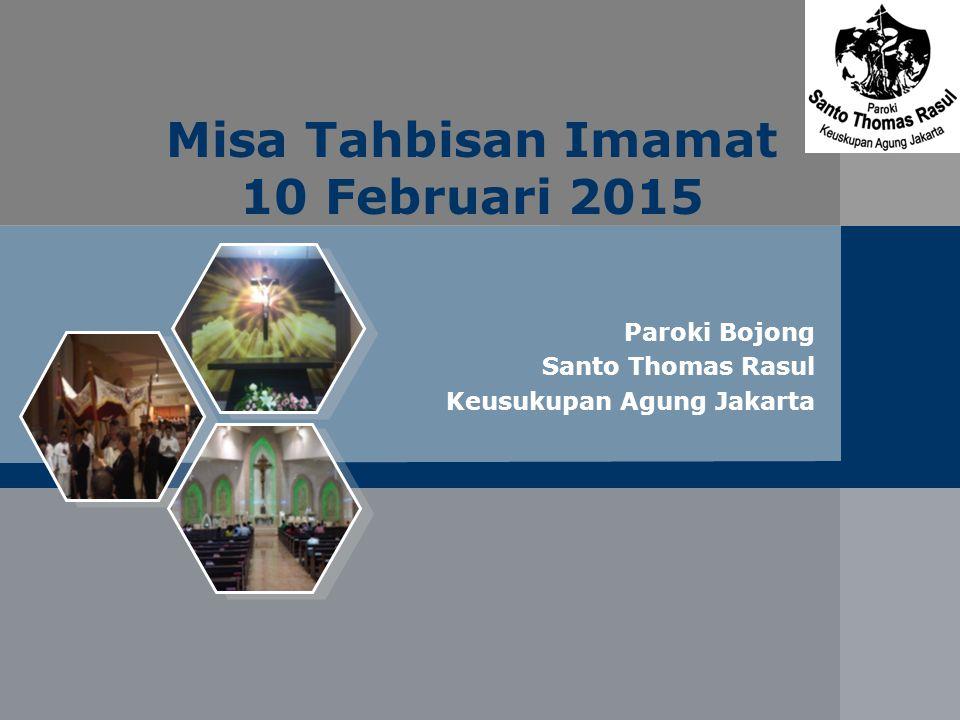 Misa Tahbisan Imamat 10 Februari 2015