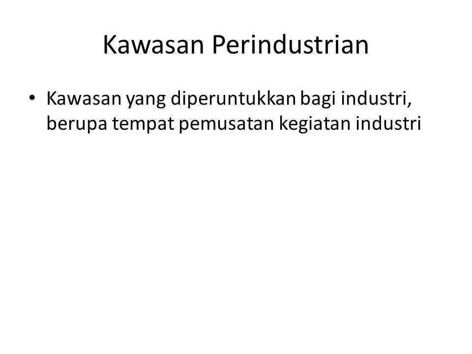 Kawasan Perindustrian