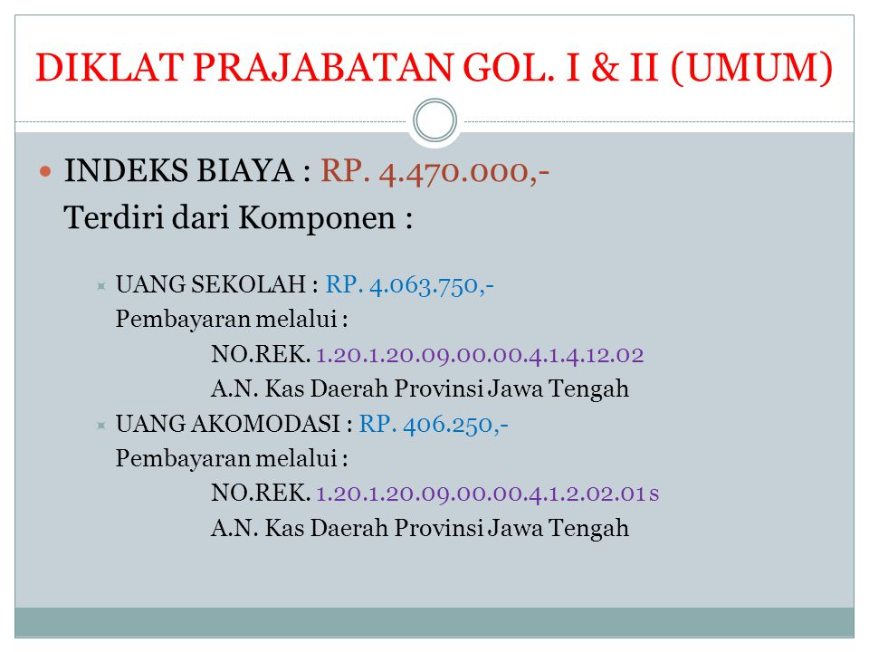 DIKLAT PRAJABATAN GOL. I & II (UMUM)