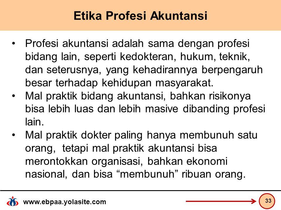 Etika Profesi Akuntansi
