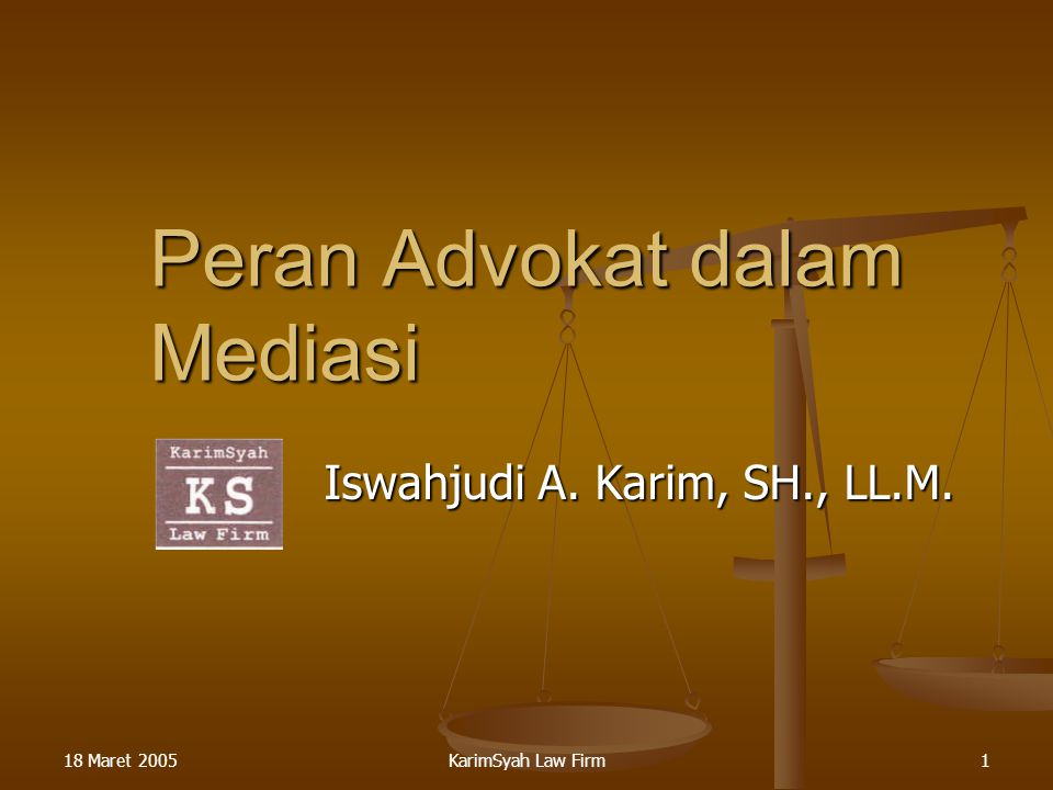Peran Advokat dalam Mediasi
