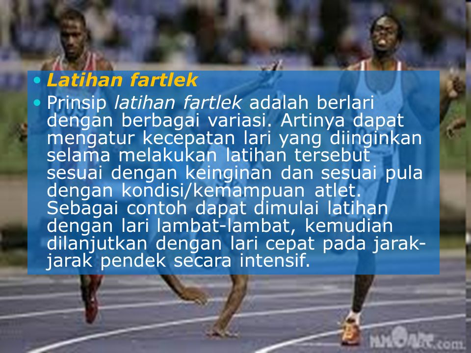 Latihan fartlek