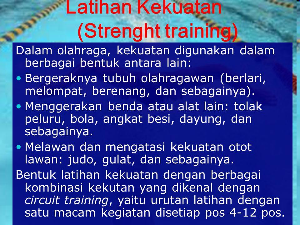Latihan Kekuatan (Strenght training)