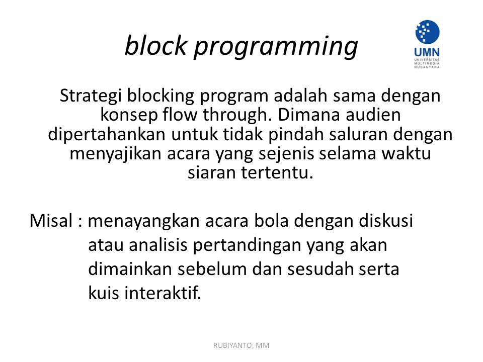 block programming