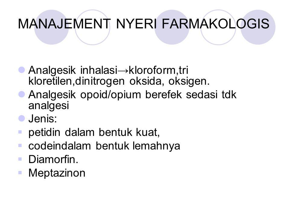 MANAJEMENT NYERI FARMAKOLOGIS