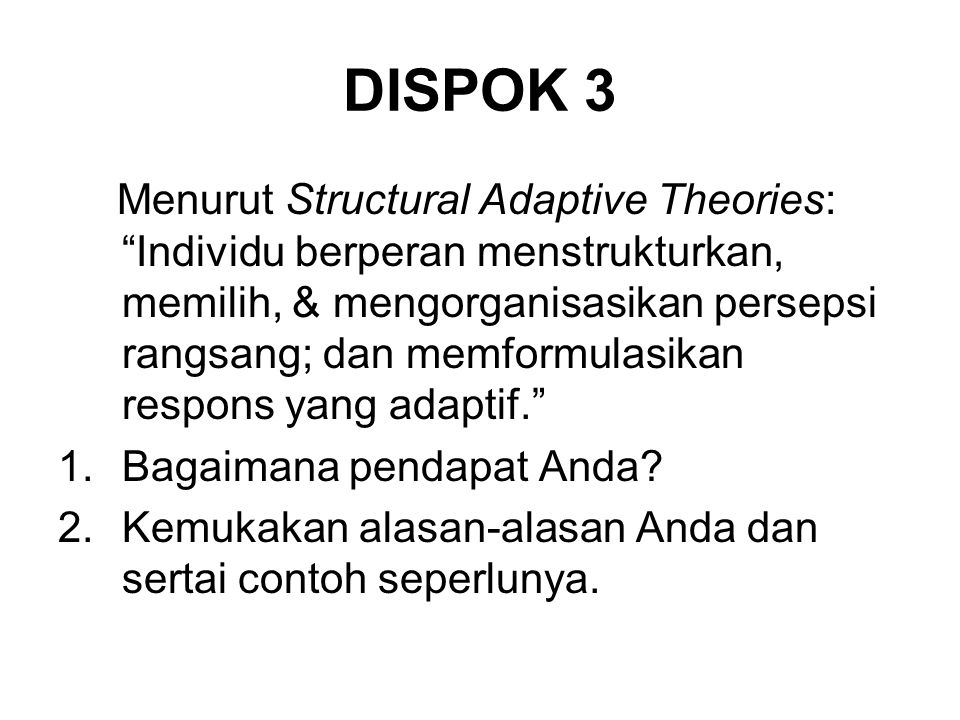 DISPOK 3
