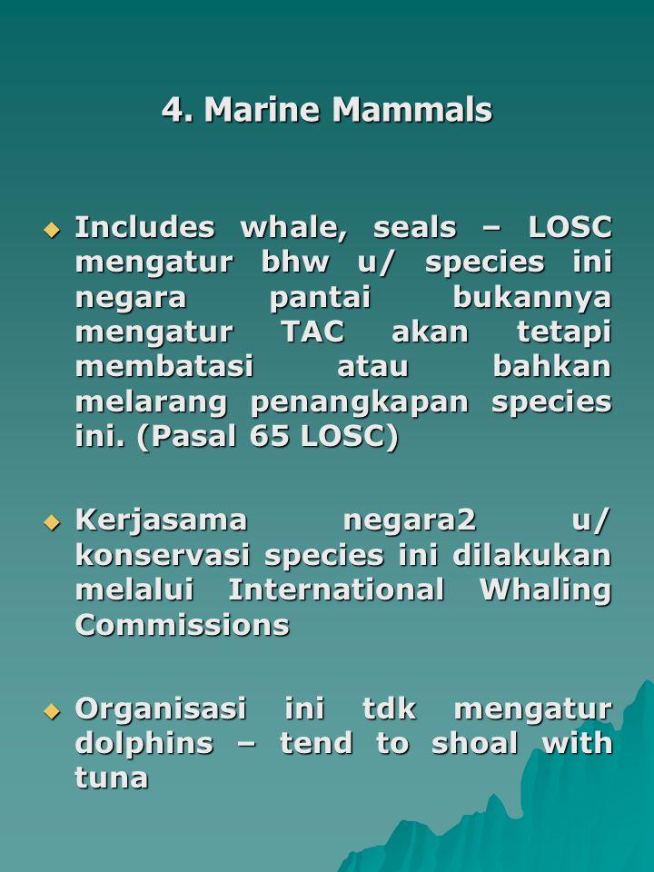 4. Marine Mammals