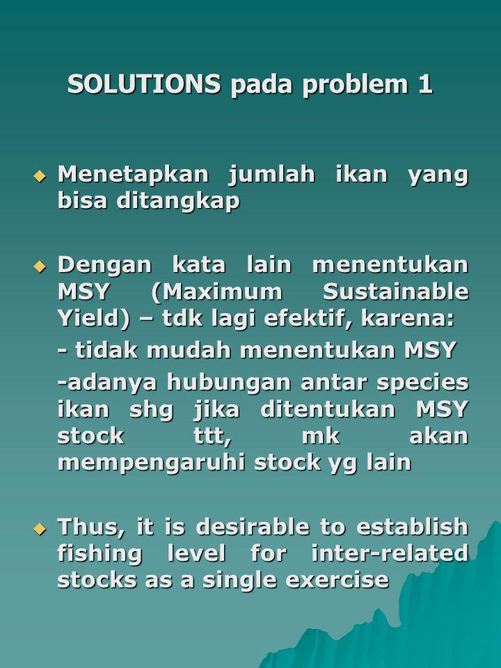 SOLUTIONS pada problem 1