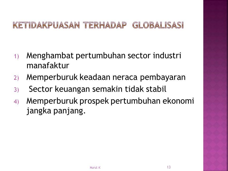 Ketidakpuasan terhadap Globalisasi